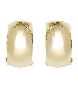 JOBO Gold ear clips wide
