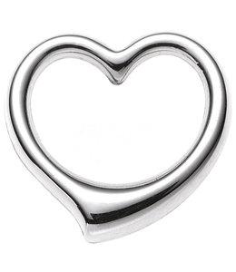 JOBO Gold pendant Heart 375 white gold