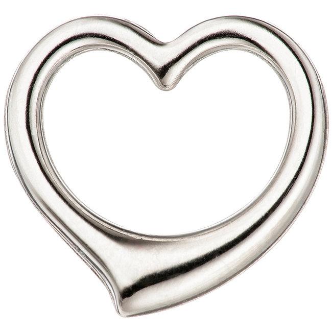 Aurora Patina Gold pendant Heart 585 white gold