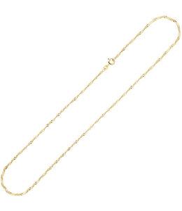 JOBO Gold necklace anchor 8 ct. Singapore 42 cm Ø 1.8 mm