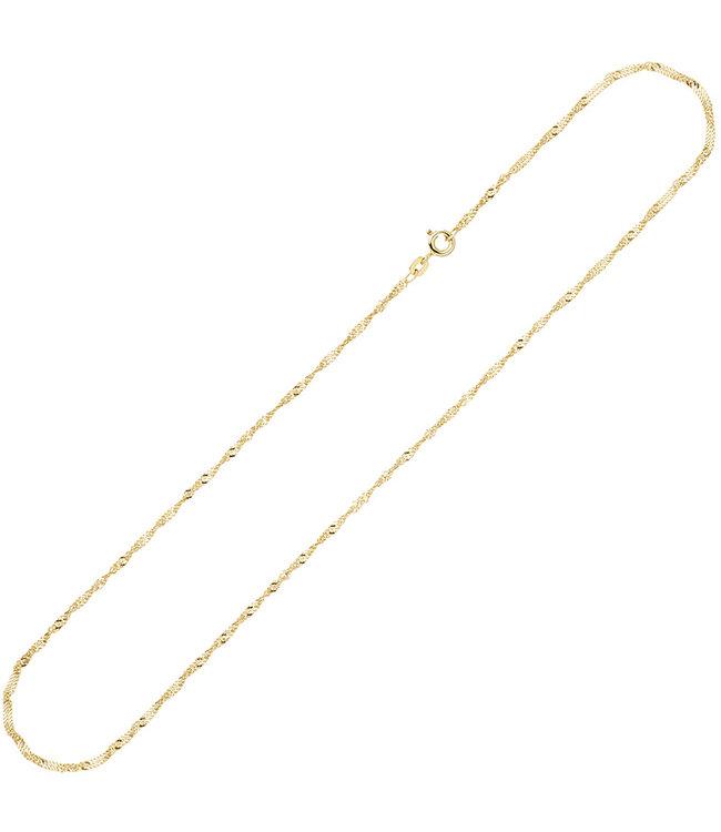 JOBO Gold necklace 8 ct. 333 Singaporelength 50 cm diam. 1,8 mm