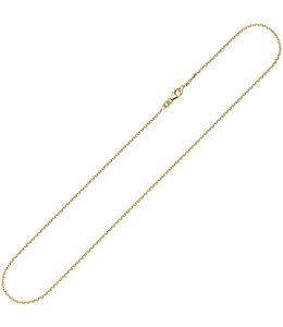 Aurora Patina Gold necklace anchor 8 ct. gold 42 cm Ø 1.6 mm