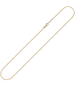 JOBO Gold necklace anchor 8 ct. gold 42 cm Ø 1.6 mm