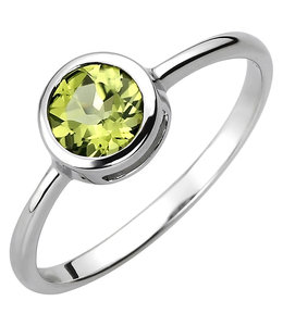 JOBO Silver ring with peridot