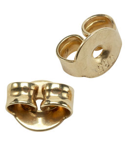 JOBO Earring stud backside 585 gold