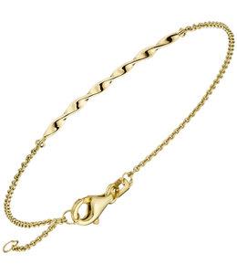 Aurora Patina Gouden armband ca. 1,8 mm