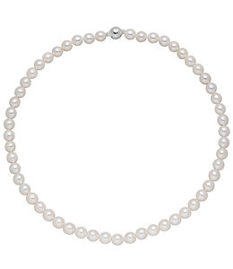 JOBO Akoya pearl necklace 43 cm 7 mm
