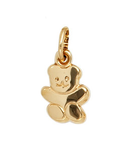 Aurora Patina Gouden hanger Teddybeer kids