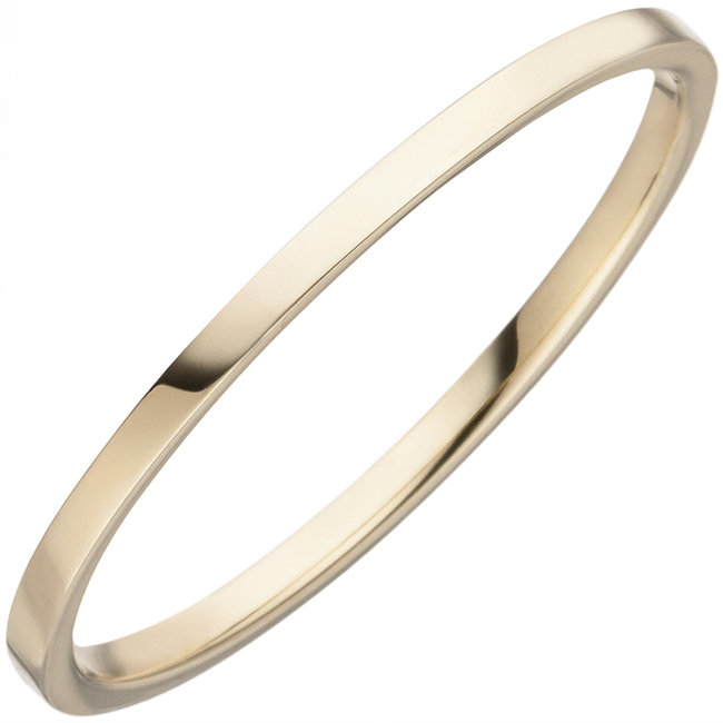 Fine gold ring for women in 8 carat (333) yellow gold