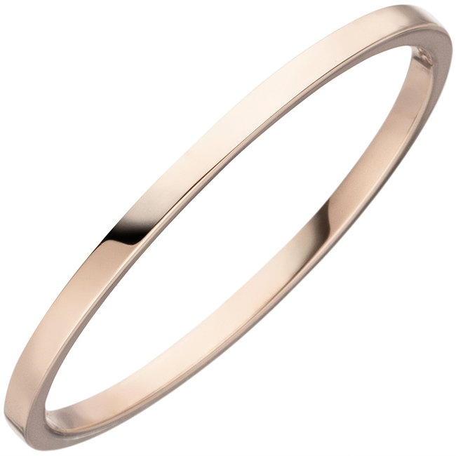Fine gold ring for women in 8 carat (333) red gold