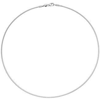 Aurora Patina Silver choker 50 cm Ø 1.4 mm
