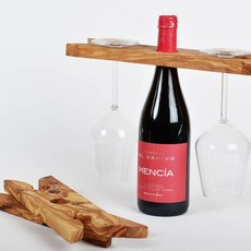 Kiwano Wooden Wineholder