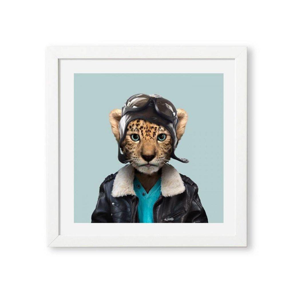 Yago Partal Ingelijste Poster | Amur Leopard