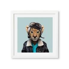 Yago Partal Poster Amur Leopard