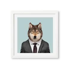 Yago Partal Ingelijst Posters Wolf van Yago Partal