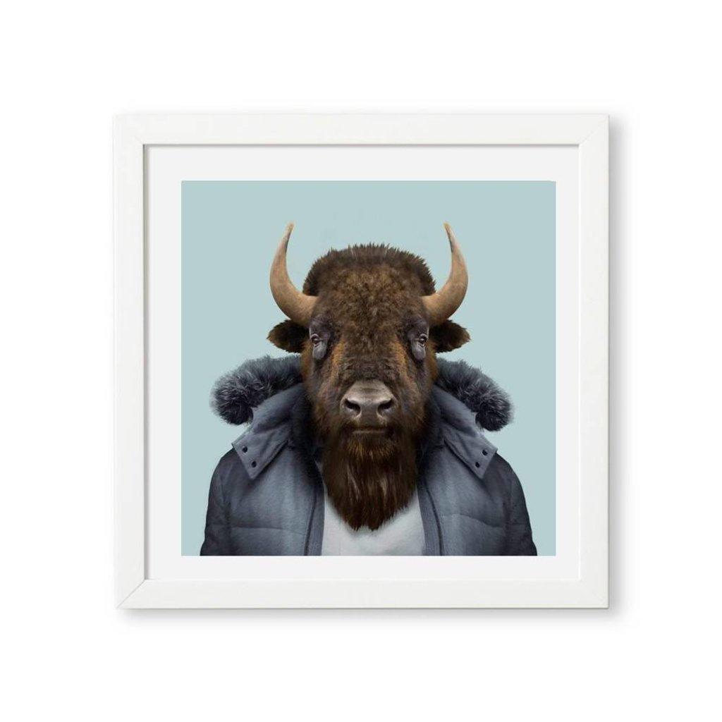 Yago Partal Ingelijst Poster American Bison