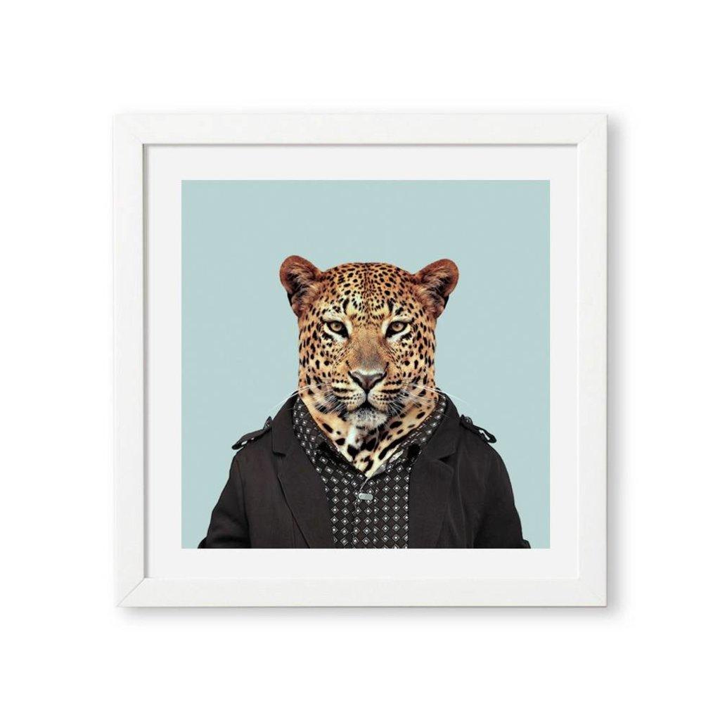 Yago Partal Ingelijst Poster African Leopard