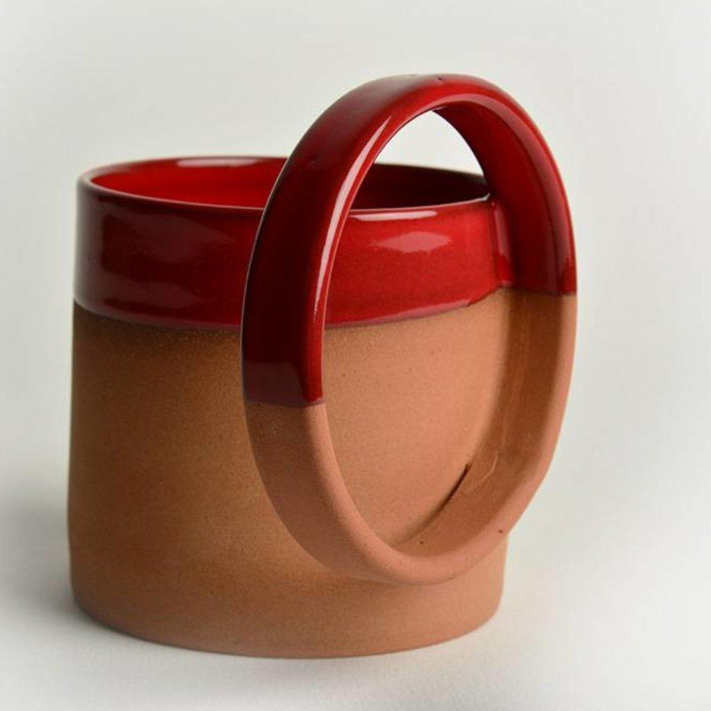 Mug with big handle