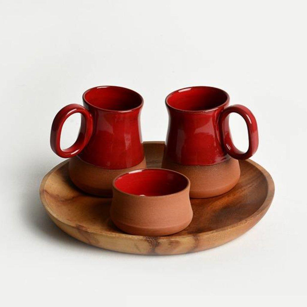 Rudolf Set of Cups