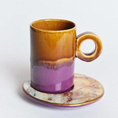 Marble Look Ceramic Cups
