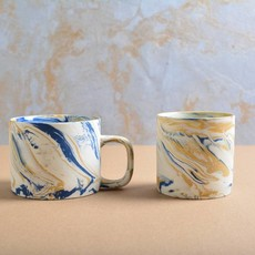 Kinta Marblelook Ceramic Cup without handle