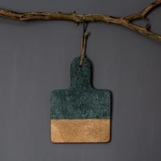 Dassie Artisan Mini Marmeren, Mangohout Plankje