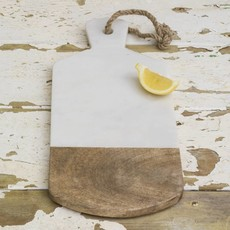 Dassie Artisan Marble - Mangowood Serve and Cutting Board