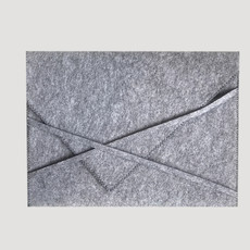 Felt Laptop Sleeve Gray