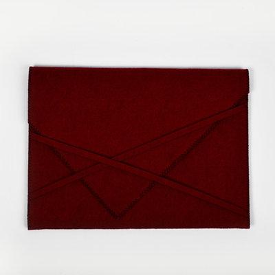 Felt Laptop Sleeve Red