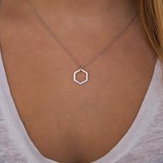 By Lauren Amsterdam Hexagon Necklace