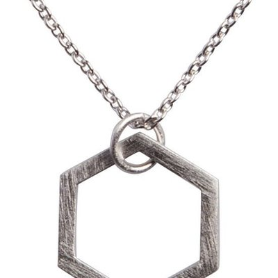 By Lauren Amsterdam Hexagon Necklace