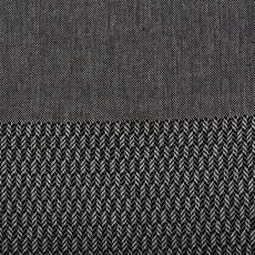 Lantara Tweed Zwart Hammamdoek