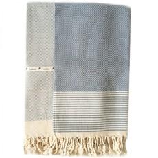 Lantara Birdeye Blue Hammam Towel 50x80 cm