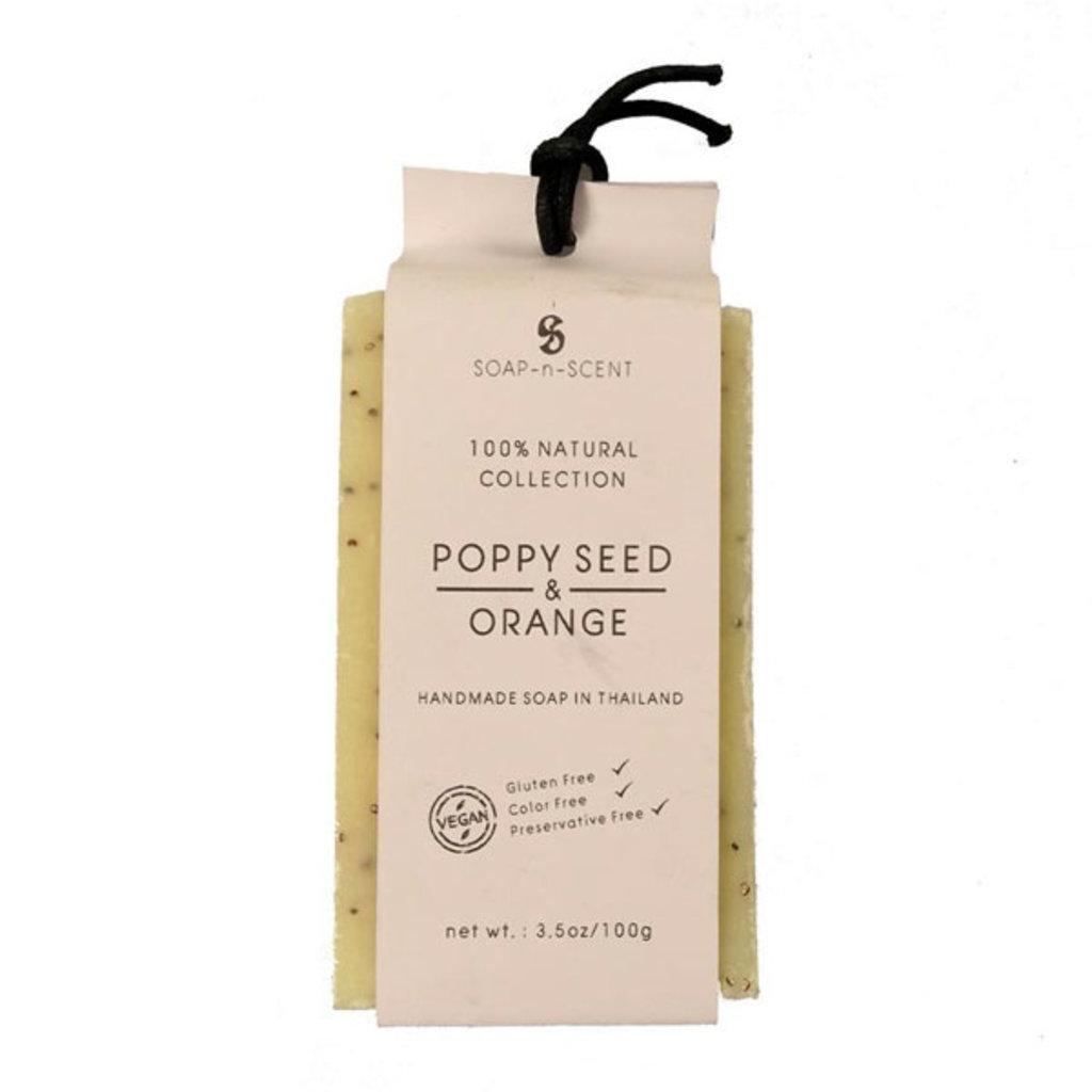 Natural Soap Poppy Seed & Orange