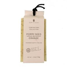Natuurlijk Zeep Poppy Seed & Orange