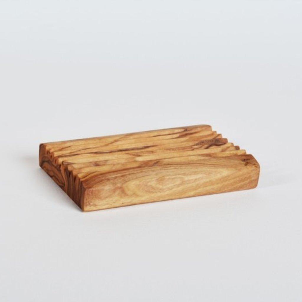 Kiwano Olivewood Soap Dish