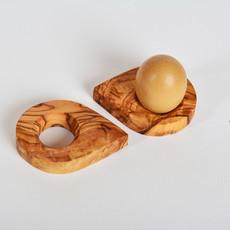 Kiwano Olijfhout Eierdop