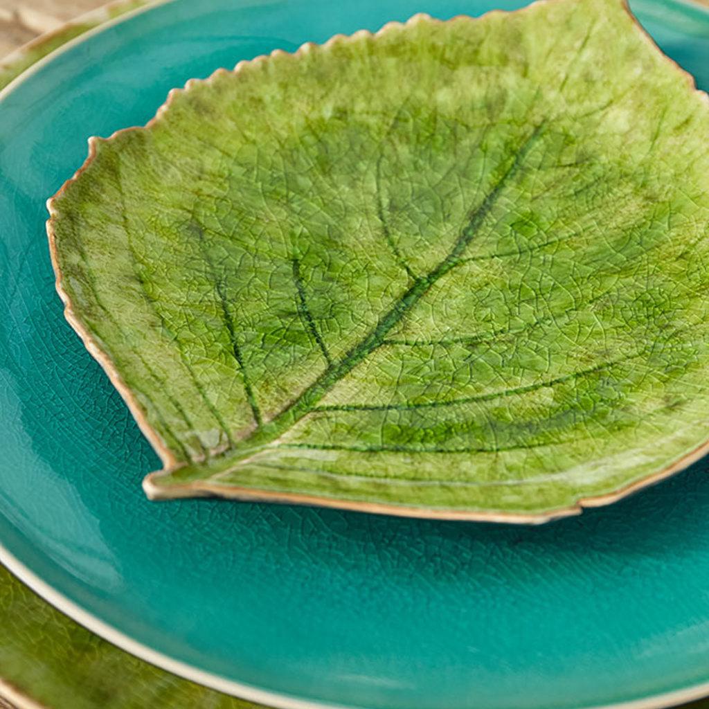 Dish Leaf  Shape