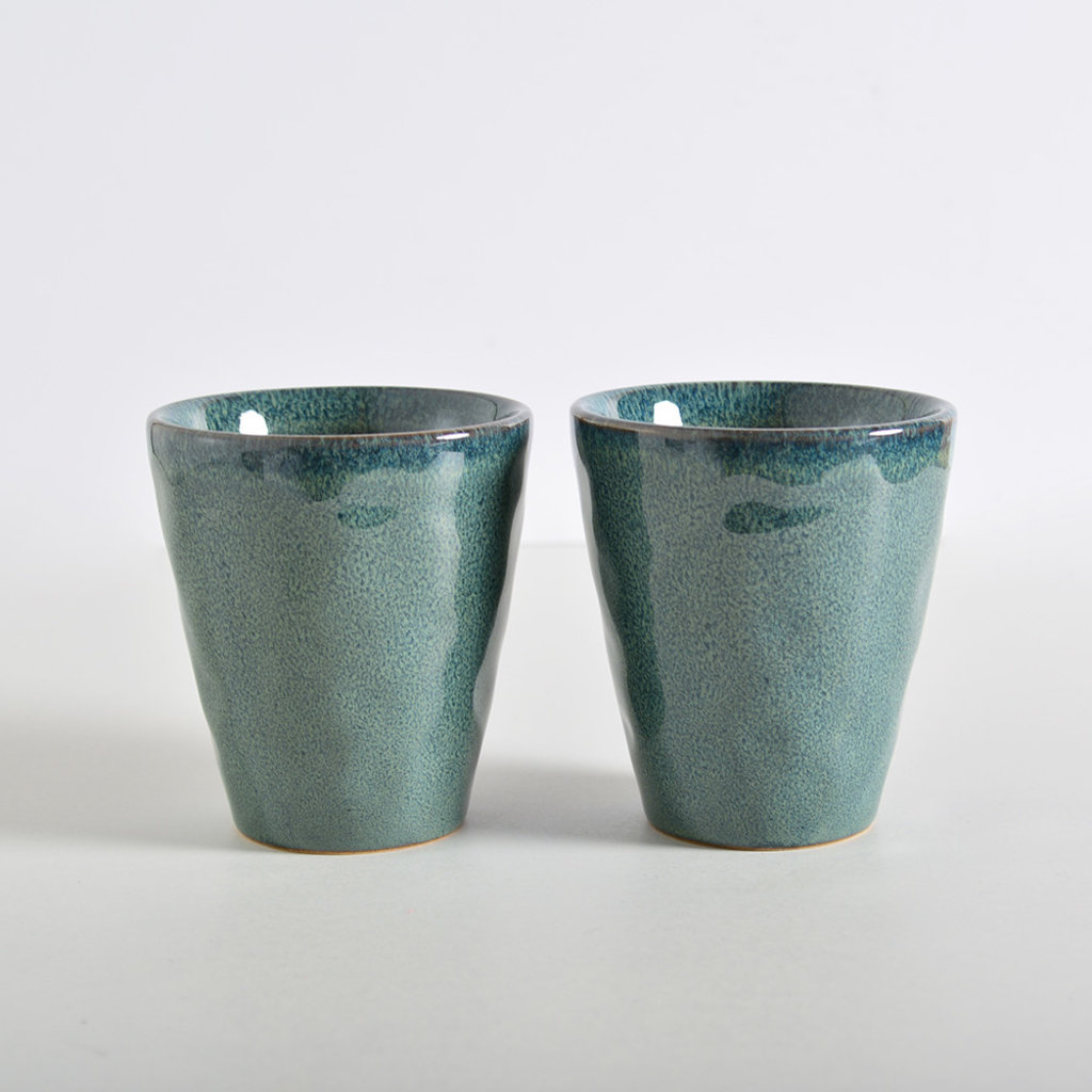 Ceramic Cup in Green