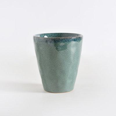 Ceramic Cup in Green