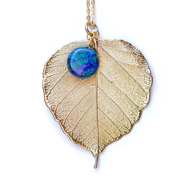 Liff Necklace Bodhi Leaf