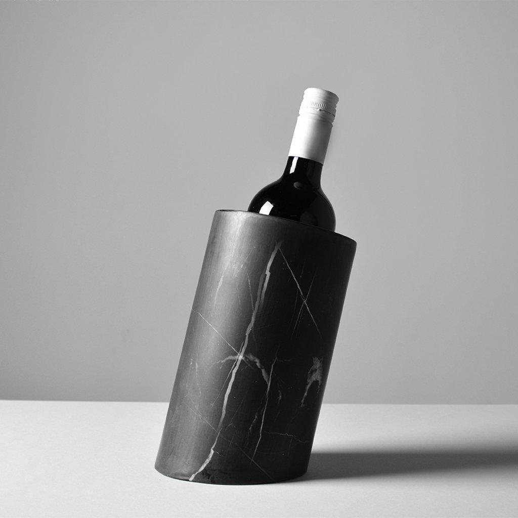Kiwano Taurus Black Marble Wijn Koeler