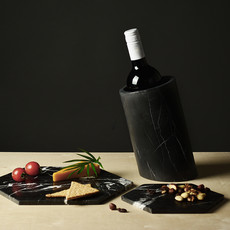 Kiwano Taurus Black Marble Wine Cooler