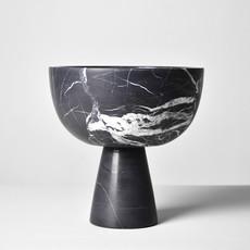 Kiwano Black Marble Fruit Bowl