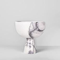 Kiwano Lilac White Marmer Fruit Schaal