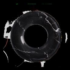 Kiwano Taurus Black Ring Dish