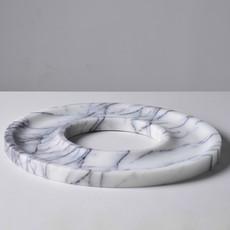 Kiwano Lilac White Marmer Ring Schaal