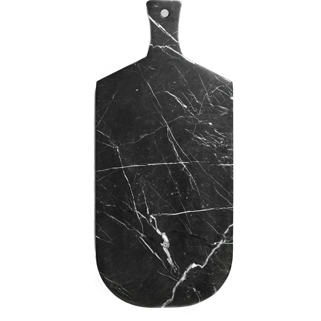 Kiwano Black Marble Cutting and Serving Board