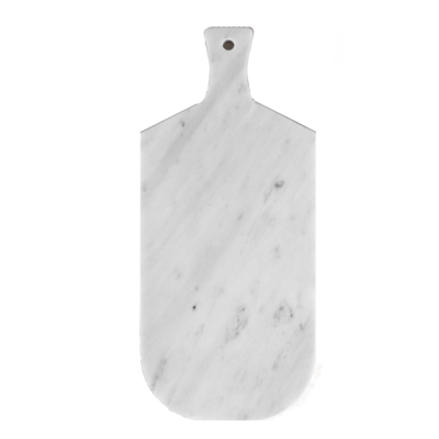 Kiwano Bianco Marble Serving and Cutting Board