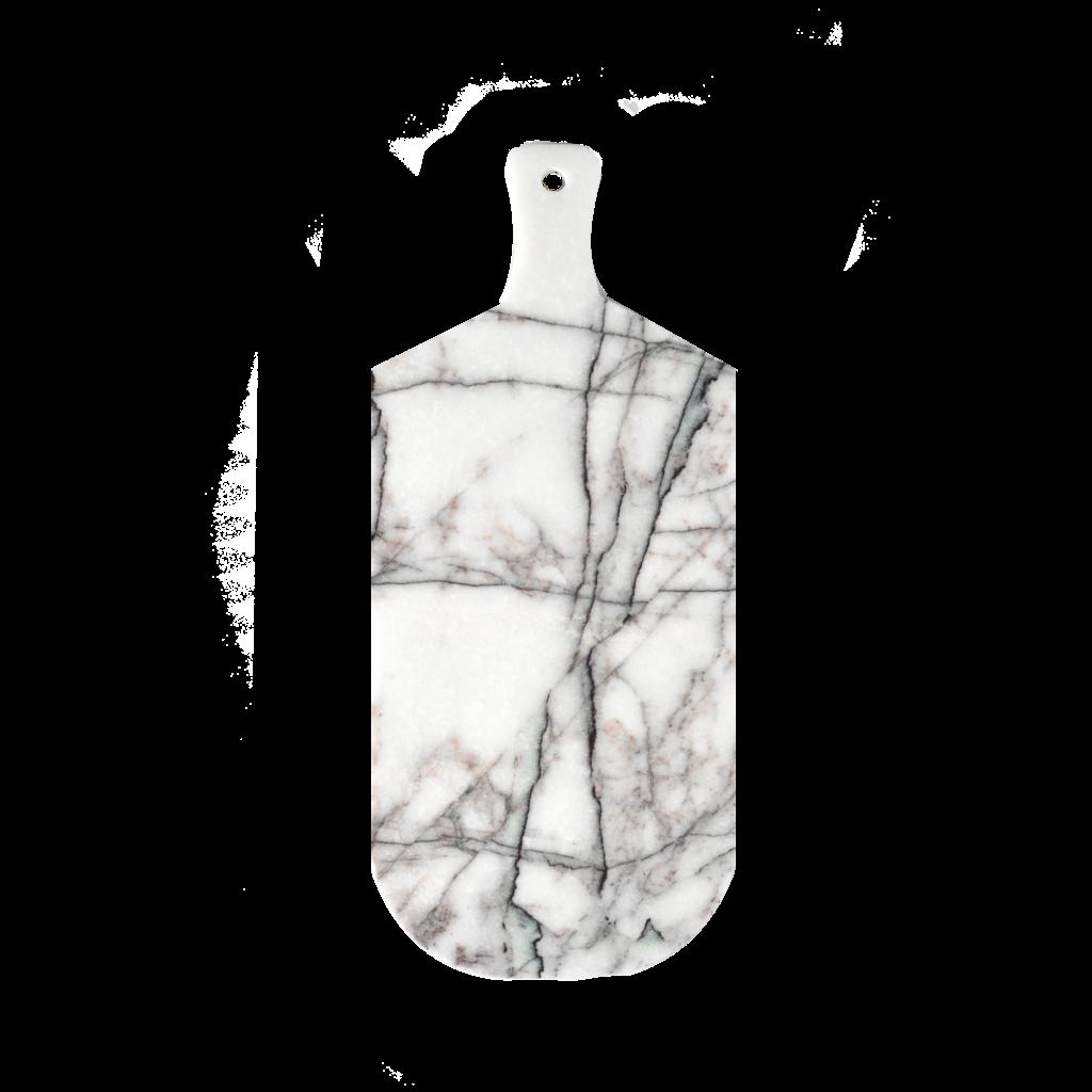 Lilac Wit Marmer Snij en Serveerplank